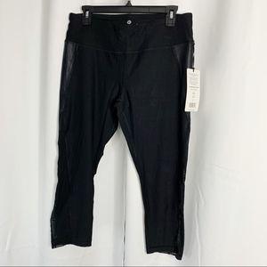 90 Degree By Reflex Pants - NEW 90 degree by reflex leggings xl mesh capris